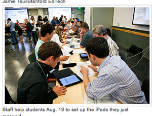 How Stanford Medical Students are using their school issued iPads