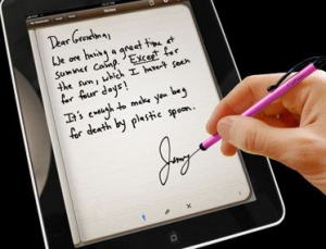 Why doctors would appreciate iPad stylus and handwriting support