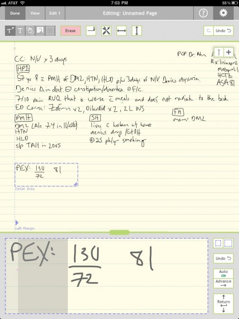 how to use notes with pen on ipad pro
