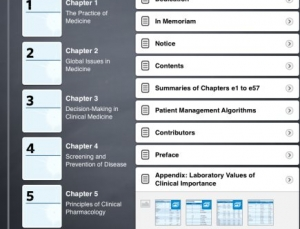 Inkling's iPad version of Harrison's Principles of Internal Medicine is impressive