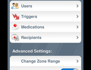 AsthmaMD is a well designed free patient app for use in monitoring asthma