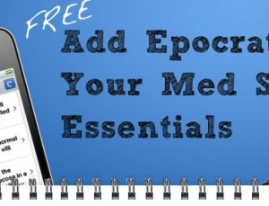 Free 1 year premium subscriptions to Epocrates Essentials for medical students
