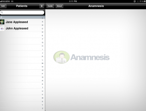 Anamnesis app aims to aid physicians in charting, but doesn't understand workflow