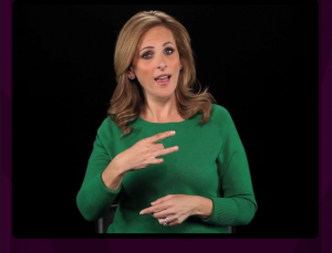 Actress Marlee Matlin brings sign language lessons to your phone with Marlee Signs app