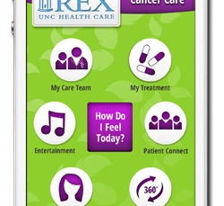 Rex Healthcare develops mobile app to personalize cancer treatment