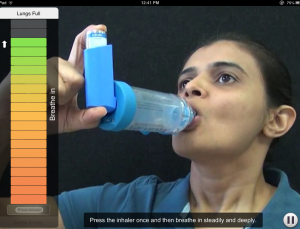How to Use Inhalers app has potential to improve treatment efficacy