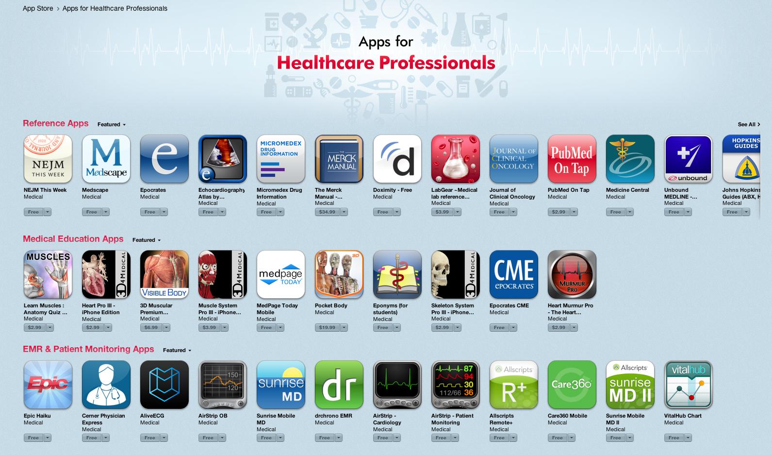 Medical Apps |