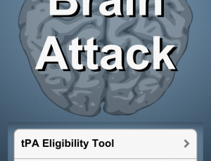 Brain Attack app is a quick way to determine tPA eligibility for acute stroke victims