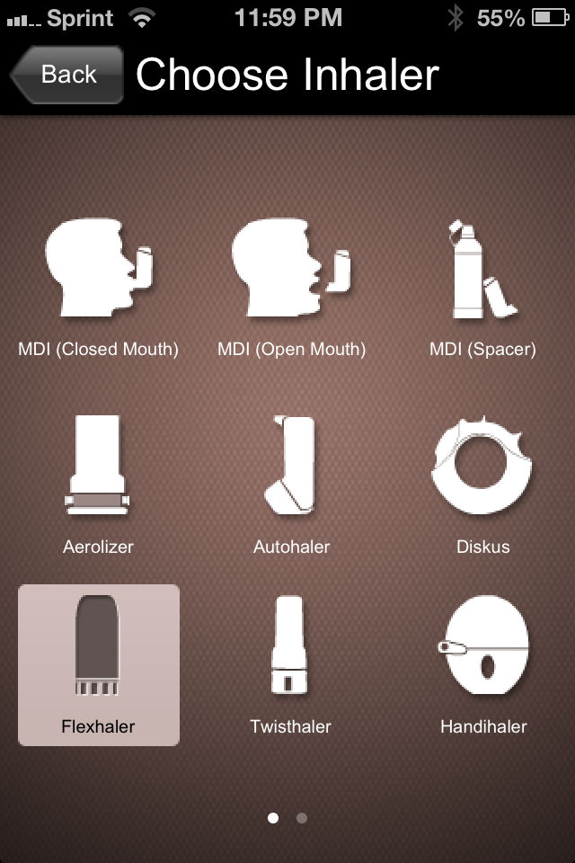 names of steroid inhalers for asthma
