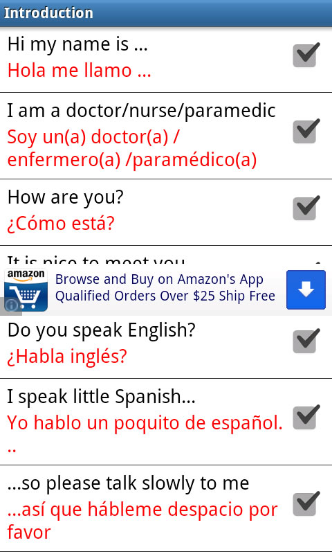 spanish english dictionary free app and contains no ads