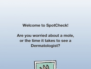 SpotCheck 2 app for iPhone checks out some of your moles