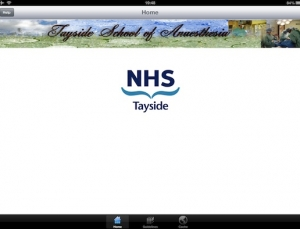 NHS Tayside Anaesthesia medical app provides collection of anesthesia guidelines