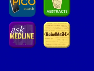 PubMed4Hh app provides different access points for searching PubMed