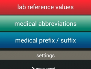 3 in 1 Lab Values + Medical Reference is a reliable and intuitive Android app