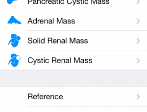 The Incidental Finding Guidelines app helps radiologists with incidentalomas