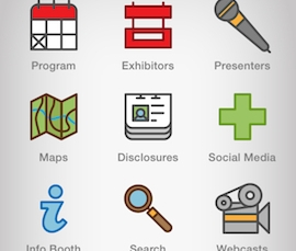 AAOS Events App by CrowdCompass takes meeting mobility technology to a new level