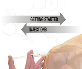 Art of Injection app demonstrates how to do localized cortisone injections