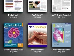 Review of the American Academy of Pediatrics app platform