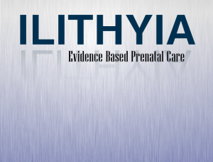 Ilithyia medical app provides evidence based prenatal guidelines