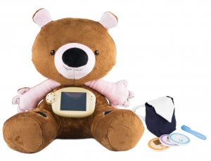 Jerry the Bear medical toy enables high level diabetes education for kids