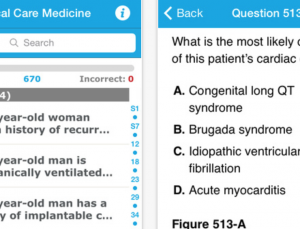 CHEST SEEK app creates question bank for pulmonary, critical care, and sleep medicine