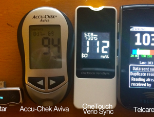 Telcare Glucose Meter hands on review, the first cellular enabled meter