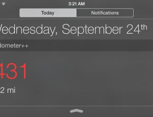 How to view your activity level in iOS 8 while iPhone is locked