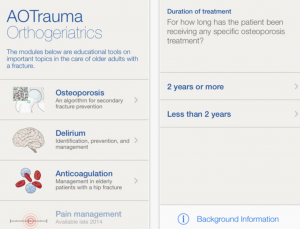 AO Trauma Orthogeriatics app helps providers care for aging orthopaedic patients
