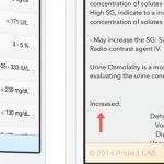 lab value app