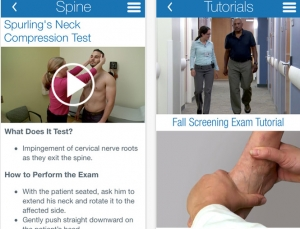 Review of UCSF's musculoskeletal medical exam app