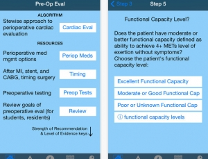 PreopEval14 is a great app for medically clearing patients for surgery