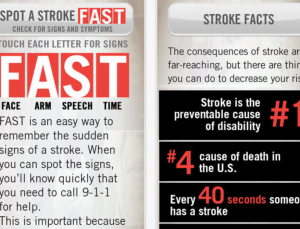 Stroke apps made for patients lack evidence based principles