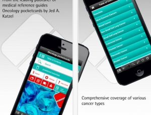 Oncology Pocketcards app, a good concept with outdated content