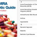 emra antibiotic guide app