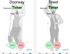 Review of frozen shoulder physical therapy app