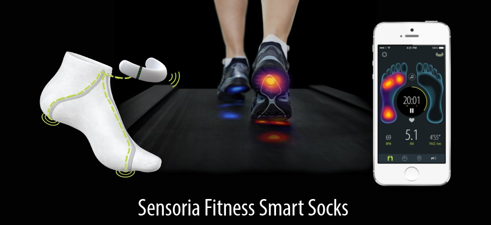 Wearable Medical Technology Sensoria's new cloth...