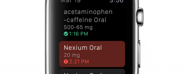 On launch day, Apple Watch will have free medication reminder app from WebMD