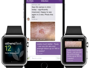 Athena & Eprocates launch HIPAA-compliant messaging app, includes Apple Watch support