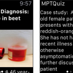 medical quiz apple watch medpage today