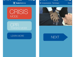 Duke CPR app is an essential download for everyone without formal CPR training