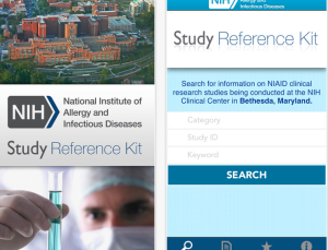 NIH Allergy and Infectious Diseases launches app to recruit clinical trial volunteers