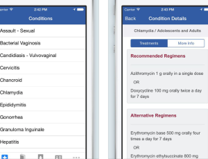 CDC updates STD treatment guidelines app