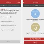 narcolepsy screener app
