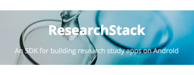 ResearchStack being developed as Android's ResearchKit cousin, beta in January 2016