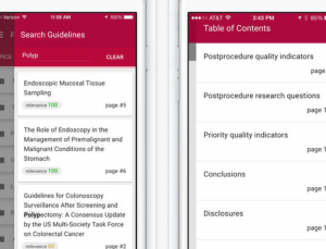 ASGE creates clinical practice guidelines app for gastrointestinal endoscopy