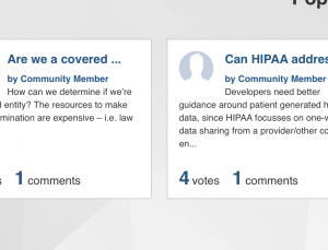 Dept of HHS is answering health app developers questions on HIPAA and patient privacy