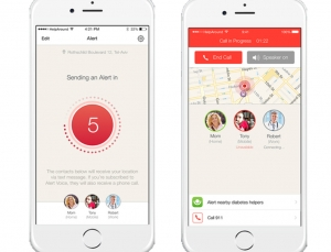 Alert app alerts patients' friends & family to dangerous blood glucose readings