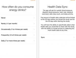 New ResearchKit app study focuses on energy drinks and their side effects, called mTECH
