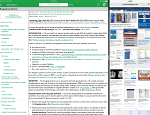 UpToDate makes medical app more useful with iPad Multitasking