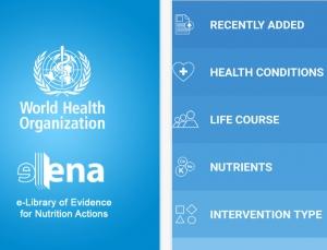 World Health Organization Releases Nutrition app, eLENAmobile